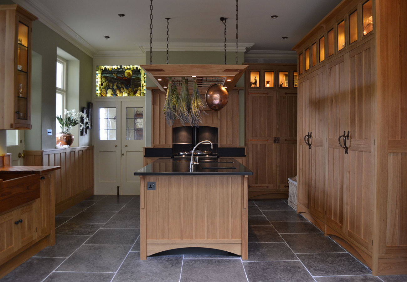 Arts and Crafts Inspired Kitchens